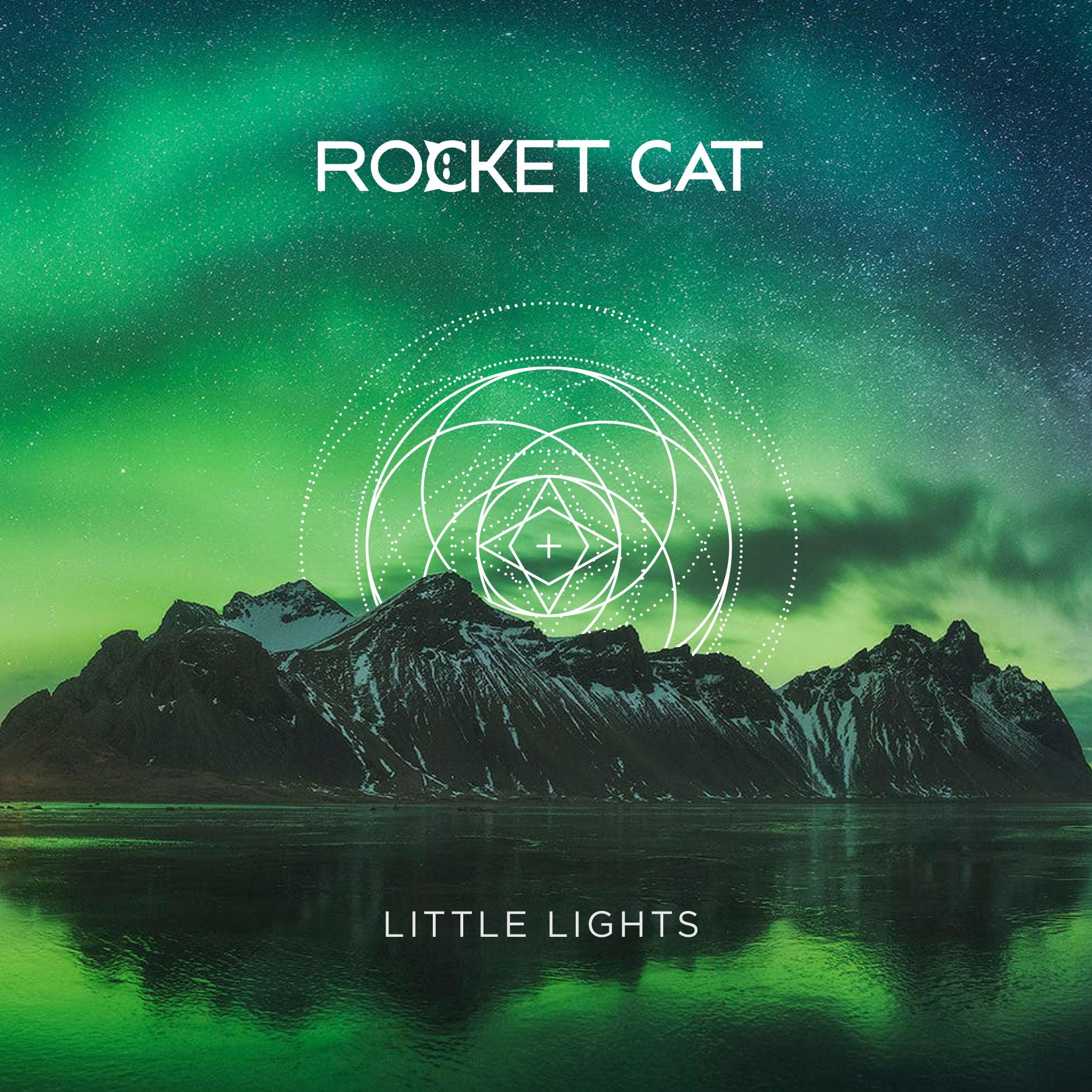 rocket cat little lights cover